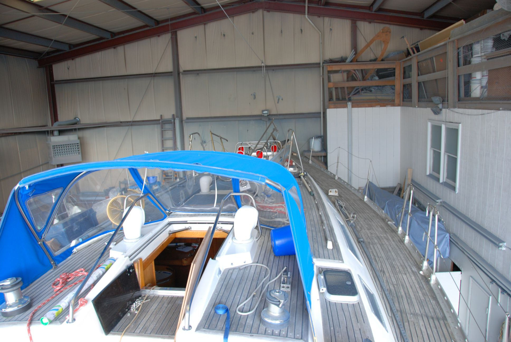 deck in paintshop